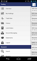 Screenshot of Interactive Investor