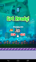 Screenshot of Flappy Doge