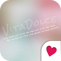 Cute wallpaper★VITA DOLCE PINK icon
