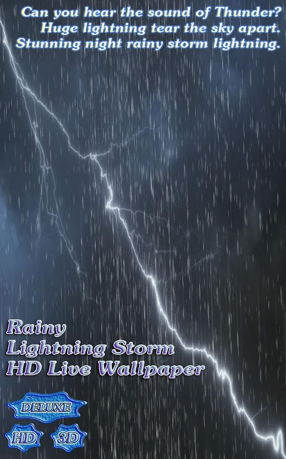 Rainy Lightning Grand Storm- screenshot