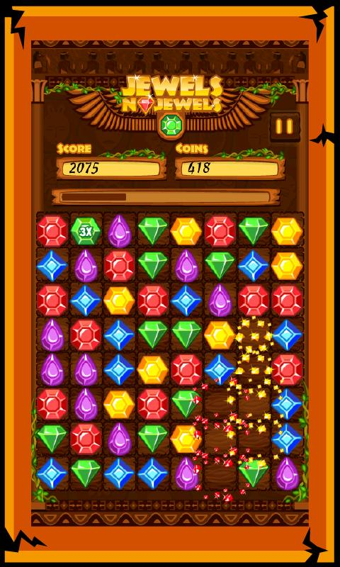 Jewels n Jewels Free - screenshot