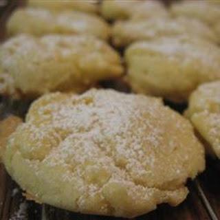 Orange Meltaway Cookies.