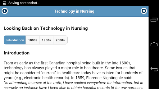 eHealth Nursing and Oncology