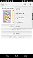 Screenshot of Shortgrass Library System