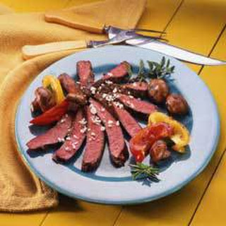Steak & Baby Portobellos.