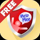 救觅.HelpMee: (公益)紧急防狼求救神器,全民个人安全防护 icon