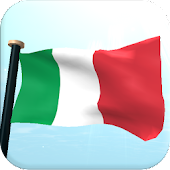Italy Flag 3D Live Wallpaper