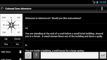 Screenshot of Colossal Cave Adventure