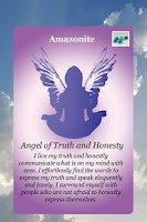 Screenshot of Angel Gemstone Oracle Cards