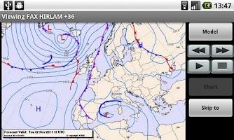 Screenshot of Weather Models