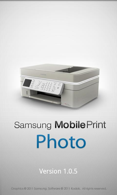 Samsung Mobile Print Photo - screenshot