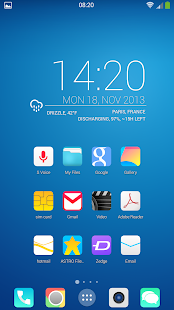 ios8 Quantum icon pack theme - screenshot