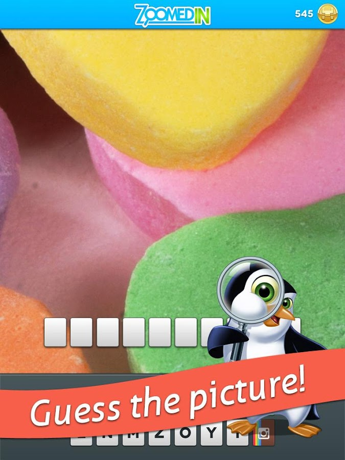 Zoomed In - Photo Word Game- screenshot
