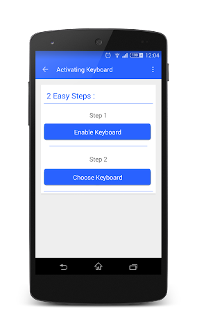 android TypeDroid Pro with Keyboard Screenshot 4