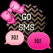 GO SMS - Chevron Bows