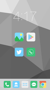FLATASTICO APEX/NOVA/GO THEME - screenshot thumbnail
