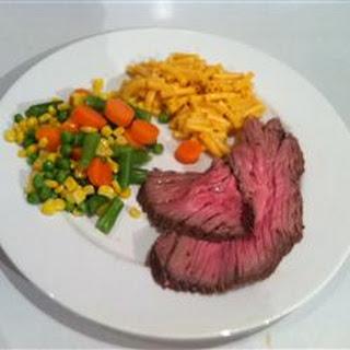 Herbed Beef in Salt Crust