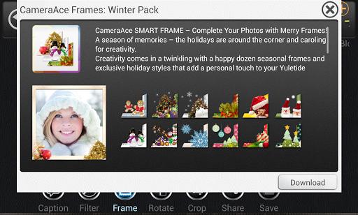 카메라에이스 프레임: Winter pack