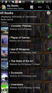 Book Catalogue - screenshot thumbnail