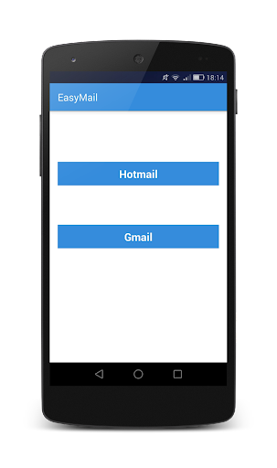 EasyMail - Gmail and Hotmail screenshot
