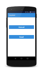 EasyMail - Gmail and Hotmail - náhled
