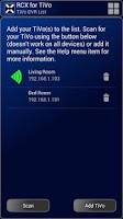 Screenshot of RCX for TiVo (free)