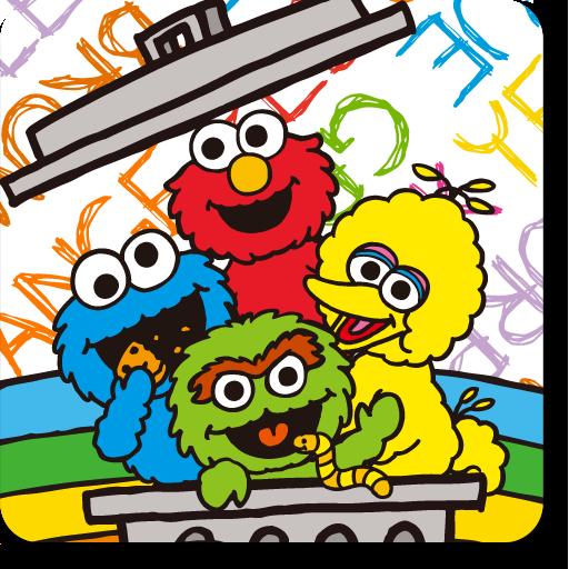 [セサミストリート]セサミのラクガキ風ライブ壁紙 個人化 App LOGO-APP開箱王