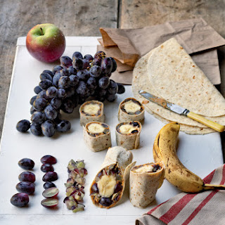 Vegan Peanut Butter & Grape Wrap