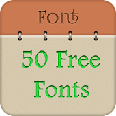 50 Fonts for Samsung Galaxy 7