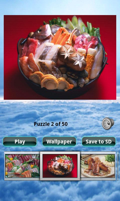 Seafood Puzzle - screenshot