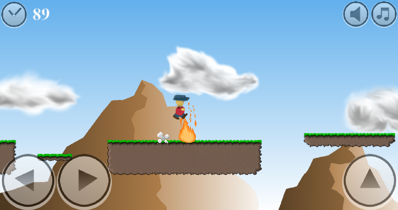 Platformer Game: Beast Smash - screenshot