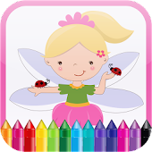 Little Fairies Kids Coloring