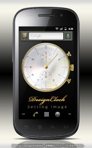 Men'sDesignClock・アナログ時計ウィジェット4