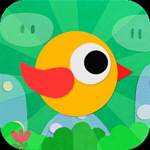 Apps apk Paper Bird - Flippy Fly  for Samsung Galaxy S6 & Galaxy S6 Edge