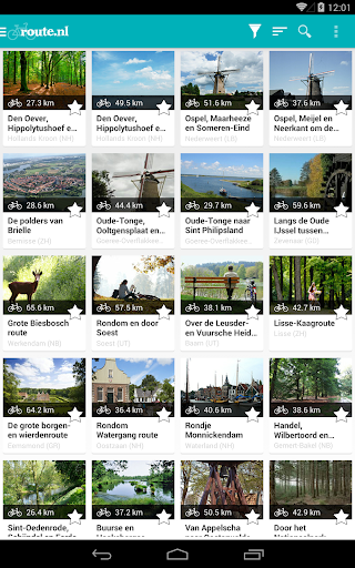 Route.nl Fiets & Wandelroutes for PC