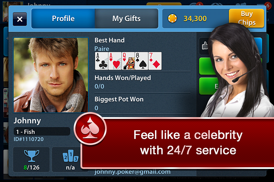 Texas Holdem Poker Free - screenshot