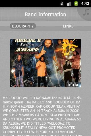 【免費音樂App】KRUCIAL K da muzik genus-APP點子