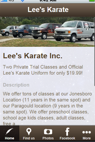 Lee's Karate in Paragould