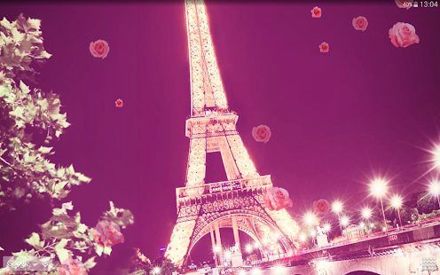 Romantic Paris Live Wallpaper Apps On Google Play