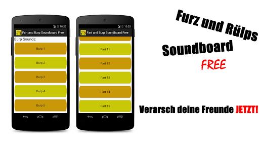 Furz und Rülps Soundboard free