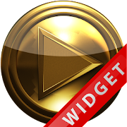 Poweramp Widget Pure Gold icon