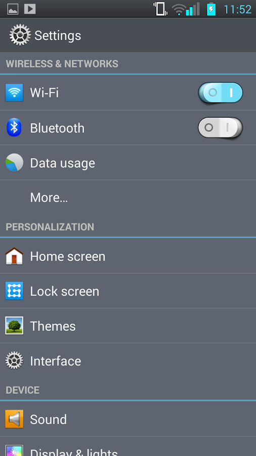 CM11 CM10 LG Optimus G2 Theme - screenshot