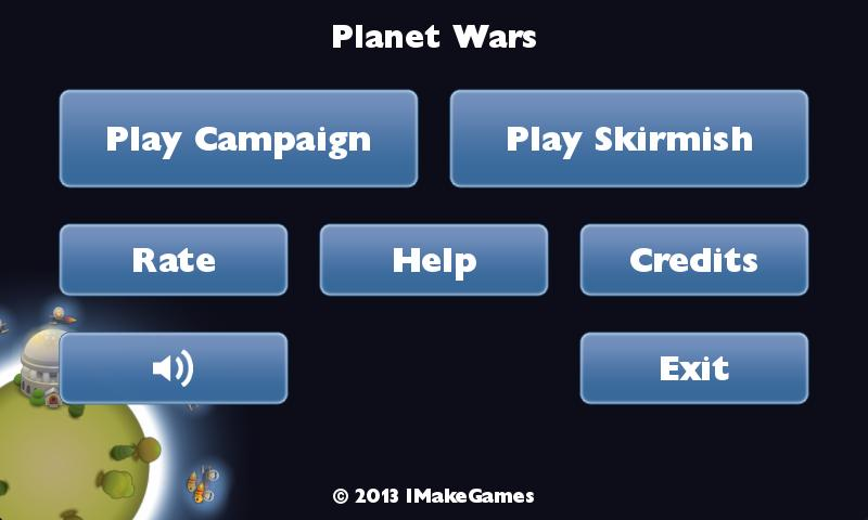 Planet Wars - screenshot