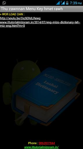 Mizo - English Dictionary Lite 1 0 Apk Download - com khampat