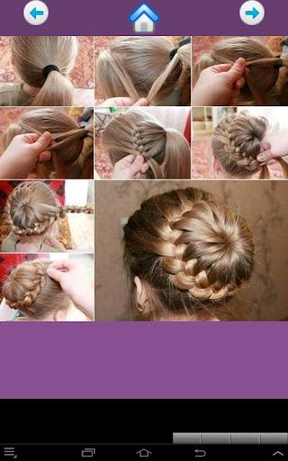 Cute girl hairstyles 2018  screenshots 4