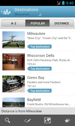 Wisconsin Guide by Triposo