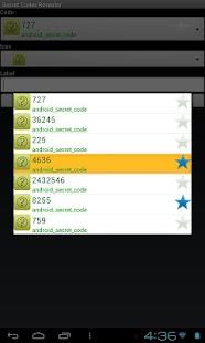 Secret Codes Revealer- screenshot thumbnail