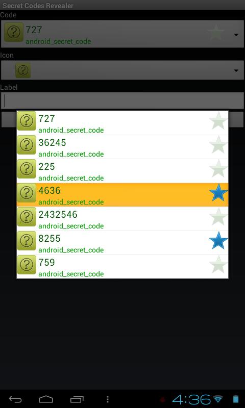Secret Codes Revealer- screenshot