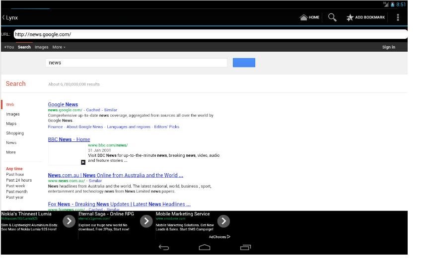 Little Web Browser [2] screenshots
