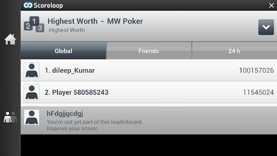 Texas HoldEm Poker LIVE - Free - screenshot thumbnail